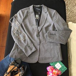 NWT Chadwick's classic gray blazer 16